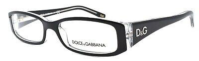 Dolce & Gabbana DD1179 675 Women's Eyeglasses Frames 51-16-130 Black On (Dolce And Gabbana Glasses Womens)