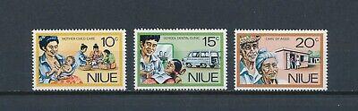 Niue  196-8 MNH, Social Services, 1977