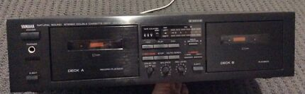 Twin tape deck