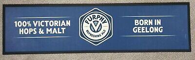 FURPHY BEER RUBBER BACKED BAR RUNNER/ MAT BRAND NEW