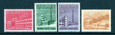 1963 Albania SC 691-700 MH Mint Hinged Set of 4, Industrial Development*