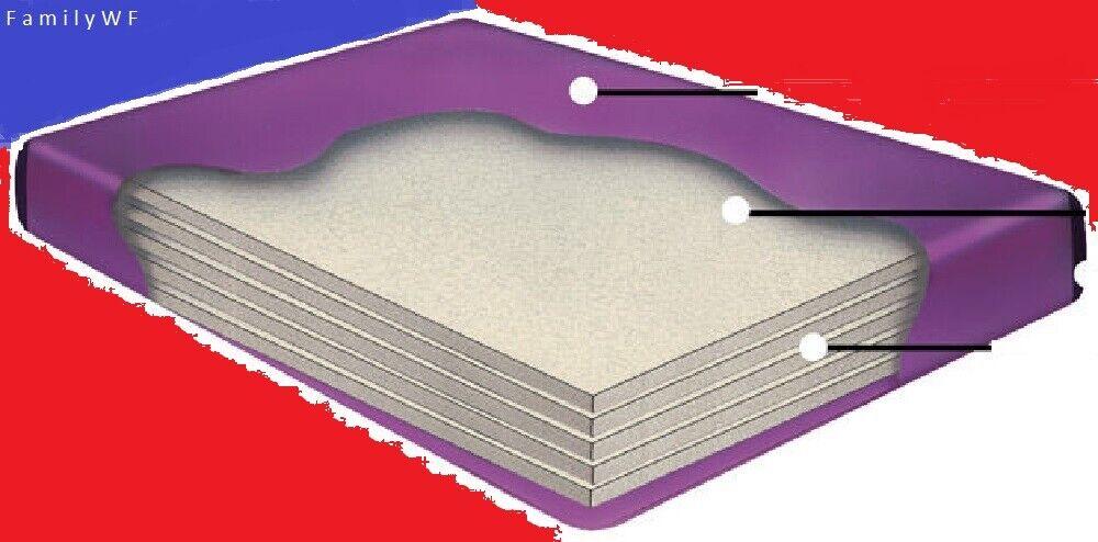 cal king 98 percent waveless waterbed mattress