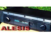 ALESIS RA - 100 100 Watts + 100 Watts Power Amplifier