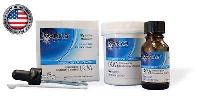 Irm Dental Polymer Reinforced Zoe Cement 50g Powder 15ml Liquid - Mark3 -