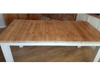 Large Pine Dining Table, seats 6-8.