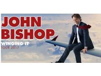 2 TICKETS - JOHN BISHOP - £60 - THIS WEDNESDAY NEW THEATRE OXFORD