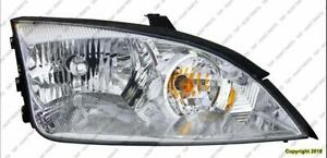 Head Light Driver Side Exclude Svt Ford Focus 2005-2007