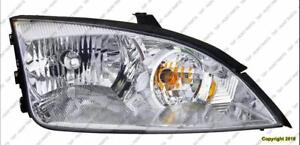 Head Lamp Driver Side Exclude Svt High Quality Ford Focus 2005-2007
