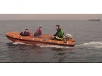 4M Gemeni Inflatable Boat in seaworthy condition no engine and no trailer