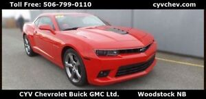 2014 Chevrolet Camaro 1SS Coupe 6.2L V8 Local Trade Low KMS! - $