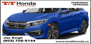2016 Honda Civic EX-T *Remote Starter, Turbo Engine, Back Up...