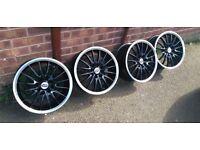 "15"" 4x100 & 4x108 Brand new Team dynamics JET alloy wheels"