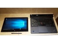 Lenovo IBM Helix 2 in 1 Tablet Touchscreen Ultrabook laptop Intel Core i5 -3rd gen cpu 128gb SSD