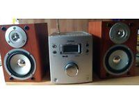 Goodmans 1104S Hi-Fi CD/DAB/FM Micro System - Silver - 10W