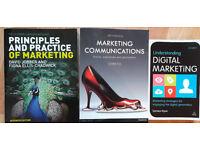 Marketing book bundle, excellent condition - £50