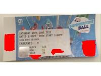 Capital summertime ball ticket (high spot)