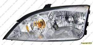 Head Lamp Passenger Side Exclude Svt Ford Focus 2005-2007