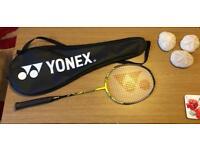 Yonex Badminton Racket & Case