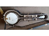 Gold Star GF-85 Style III 5-string banjo (2003) inc fitted hard case.