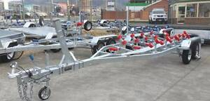 7mt Dual Axle Boat Trailer-Multi Roller, with Walk Way(Braked) Glenorchy Glenorchy Area Preview