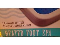beaumark heated foot spa
