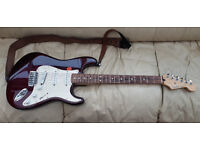 Fender Mexican Standard Stratocaster.