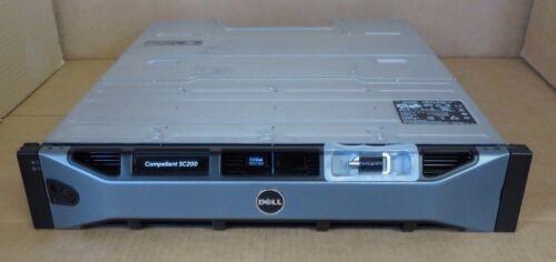 Dell Compellent SC200 5.4TB 12x 450GB 15K 2x SC2 EMM 2x PSU Expansion Enclosure