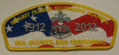 Mt Diablo Silverado Council, BSA, Sea Scout Centennial, 2012