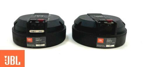 JBL 2451J Neodymium Horn Drivers Genuine JBL Diaphragms Close 8.0 / 8.1 DCR