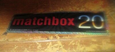 MATCHBOX 20 STICKER NEW EARLY 2000'S VINTAGE OOP RARE COLLECTIBLE