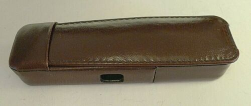 Minox LX Burgundy Leather Camera Case - Made in GERMANY - RARE