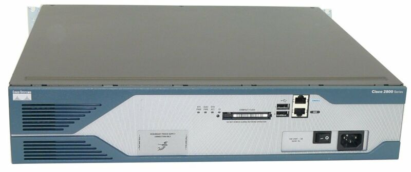 Used Cisco2521 + Nm-hdv-1t1-12 Cisco 2800 1-port 12-channel T1 Voice And Fax Mod