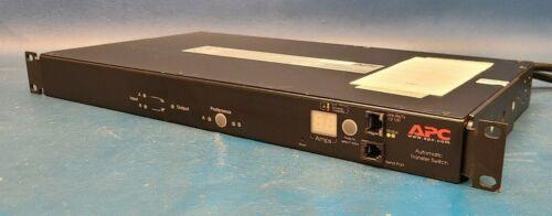 APC, AP7750A Automatic Transfer Switch 10 Outlet 120V 12A 50/60Hz 12 Amp.