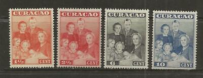 CURACAO MLH ROYAL FAMILY COMPLETE SET - SC. 170-173 - A42