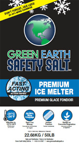 Safety Salt - Green Earth - Premium Ice Melter