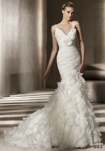 New wedding dress, never worn, Pronovias Galante Stratford Kitchener Area image 8