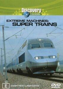 Extreme Machines - Super Trains (DVD, 2003)-REGION 4-Brand new-Free postage