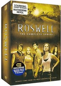 Roswell DVD The complete series seasons 1-2-3 anglais/english