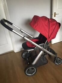 Oyster pushchair stroller with 2 colour packs