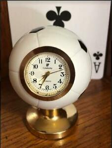 Soccer Miniature Collector's Clock