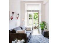 Stockbridge/Comely Bank one bed ground floor flat