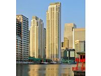 - A good size one double bedroom apartment set on the 17th floor of Pan Peninsula development, E14!