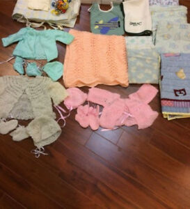 Newborn items shown in picture