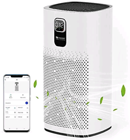 Proscenic A9 Air Purifier for Home 90m² with H13 True HEPA Filter