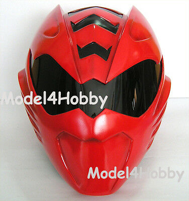 Cosplay! Jungle Fury RED RANGER 1/1 Scale Helmet(Mask) Action TV Hero Props! on Rummage