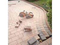 gardening , flagging, brick paving & fencing