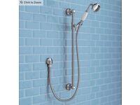 Brand New Victorian Plumping Traditional Shower Slide Rail Kit