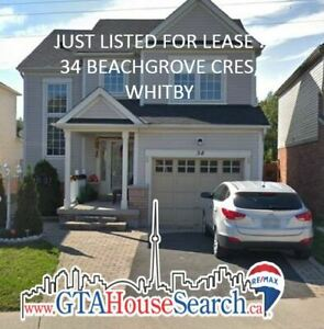 Whitby Detached For Lease