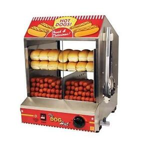 NEW* PARAGON HOTDOG STEAMER - 123375341 - THE DOG HUT MERCHANDISER