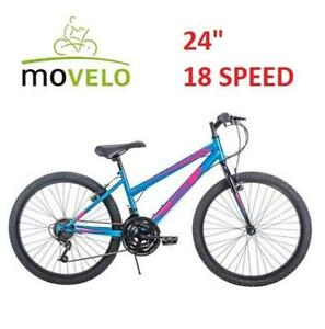 54bdc5c0b5c NEW MOVELO 24 GIRLS BICYCLE 31444873 250896697 ALGONQUIN MOUNTAIN BIKE 18  SPEED BICYCLE